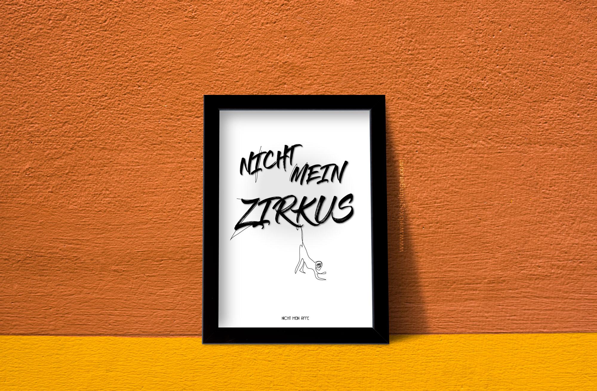 Nicht mein Zirkus – Poster