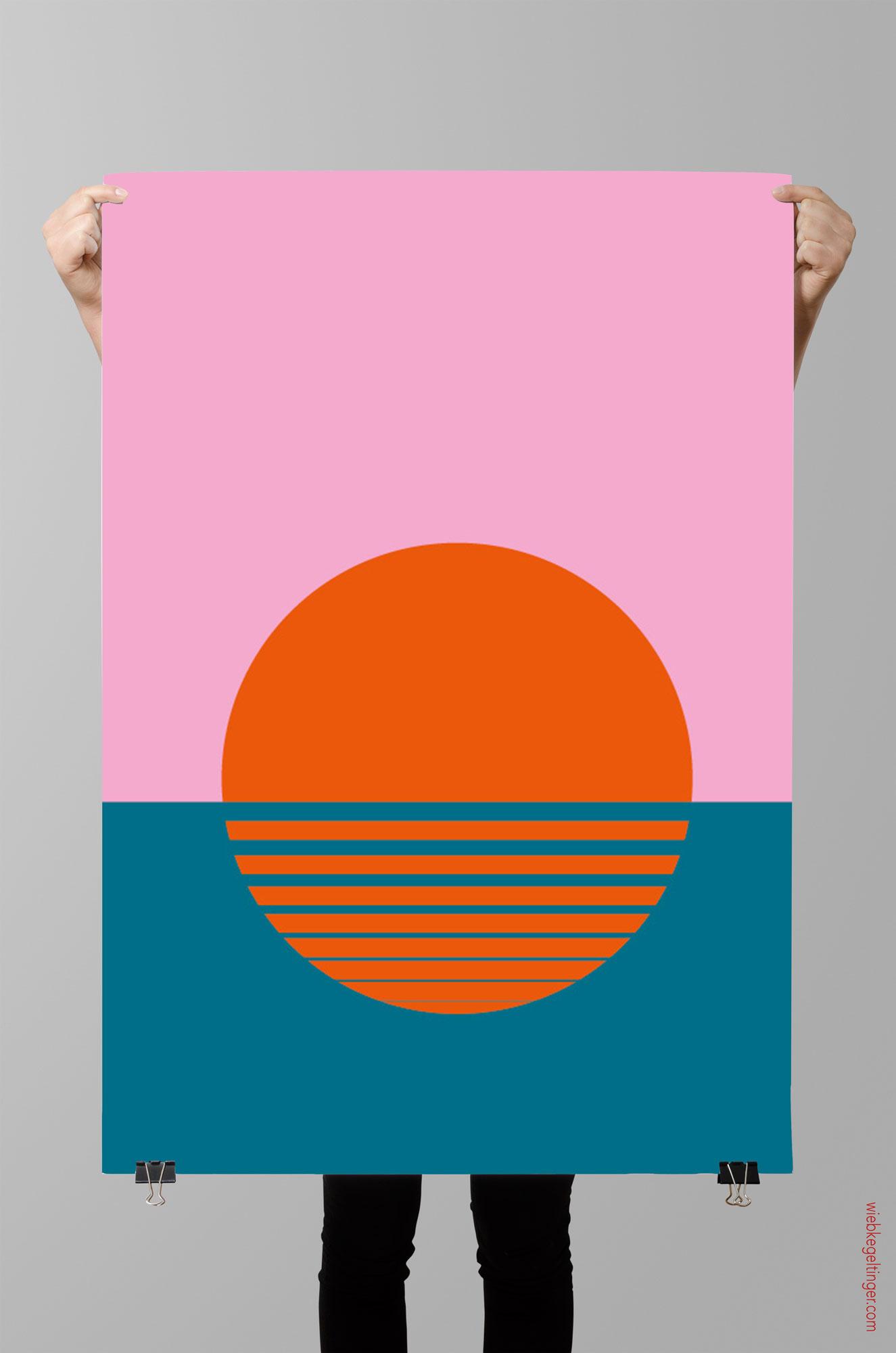 Poster und Postkarte Capri Sonne